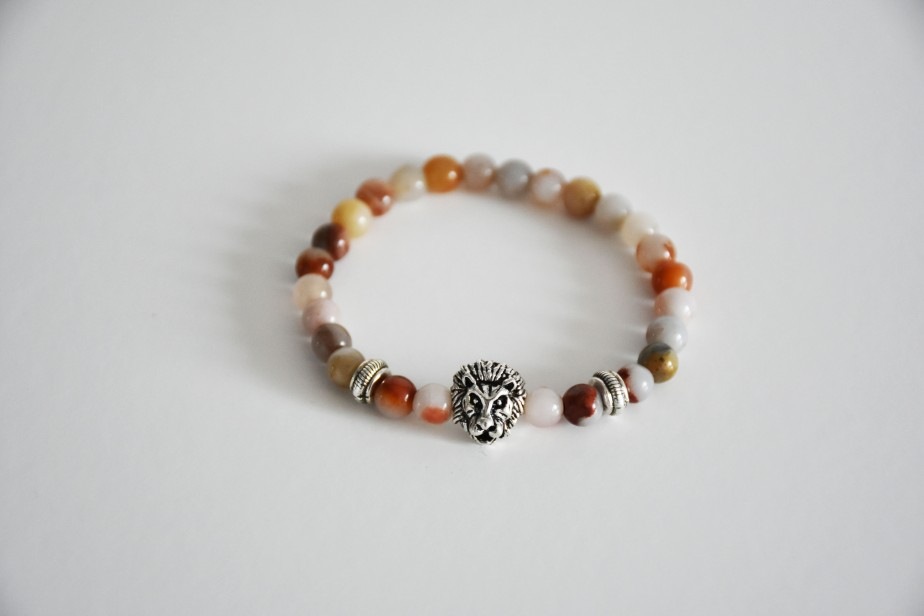 Zen Mala with Tiger Charm